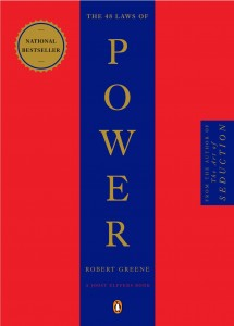 Book cover of Robert Greene's 48 Laws of Power